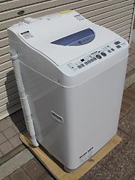 シャープ 洗濯乾燥機. ES-TG55L-A 2013年製 5.5kg 説明書あり Ag+イオンコート 25,800円(税別) 売約済み  詳しくはこちらから 販売番号 030527-01